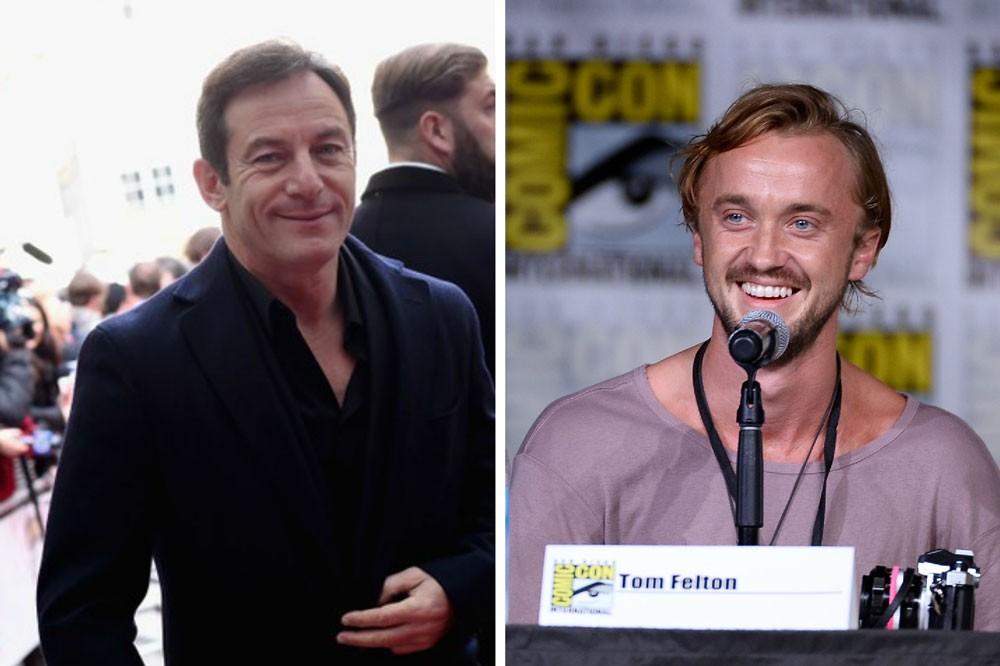 Jason Isaacs and Tom Felton (Getty/FC)