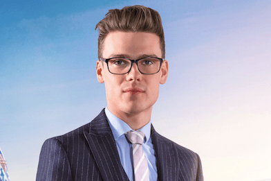 Alex Finn, The Apprentice (BBC, EH)