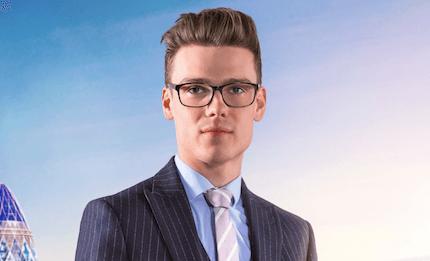 Alex Finn, The Apprentice (BBC, EH)
