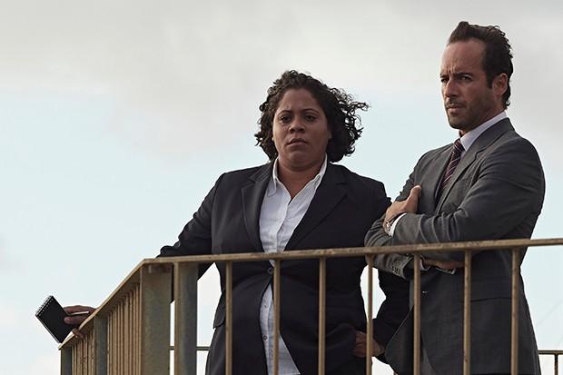 Shareena Clanton plays Detective Lorna Jones in The Cry