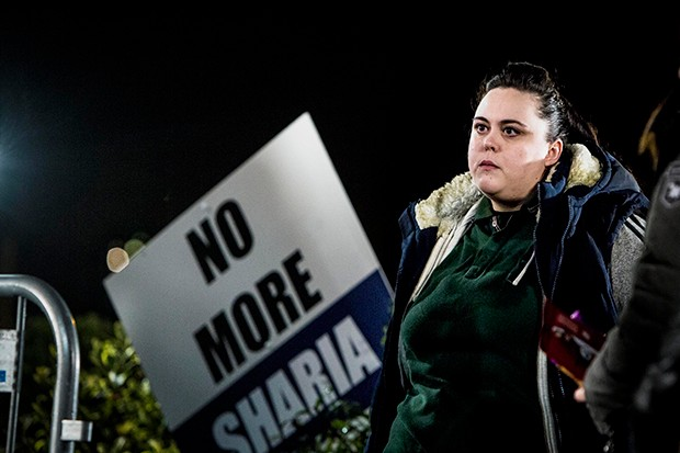 Sharon Rooney plays Faye Caddy in No Offence