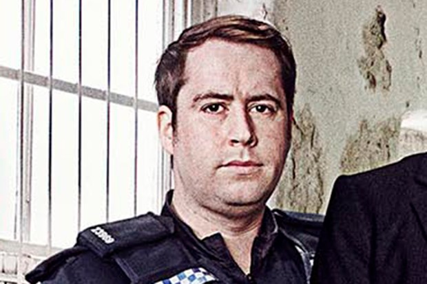 Ste Johnston plays PC Jonah in No Offence