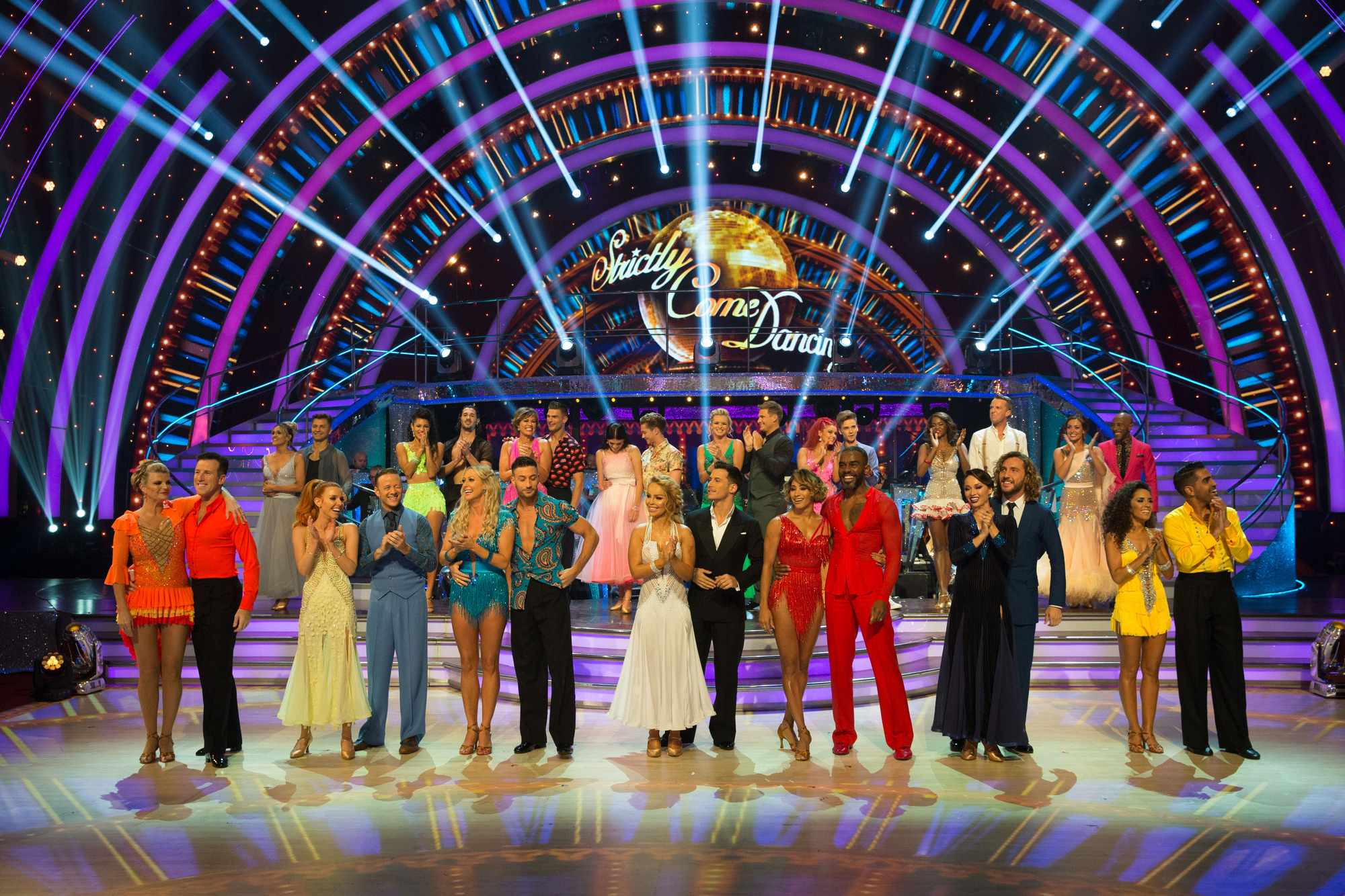 Strictly week 1 group