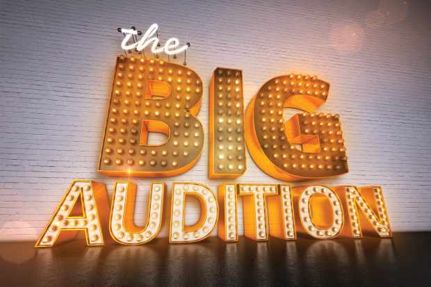 From Twenty Twenty Television  The Big Audition on ITV  Pictured: Logo.  This photograph is (C) Twenty Twenty Television and can only be reproduced for editorial purposes directly in connection with the programme or event mentioned above, or ITV plc. Once made available by ITV plc Picture Desk, this photograph can be reproduced once only up until the transmission [TX] date and no reproduction fee will be charged. Any subsequent usage may incur a fee. This photograph must not be manipulated [excluding basic cropping] in a manner which alters the visual appearance of the person photographed deemed detrimental or inappropriate by ITV plc Picture Desk.  This photograph must not be syndicated to any other company, publication or website, or permanently archived, without the express written permission of ITV Picture Desk. Full Terms and conditions are available on the website www.itv.com/presscentre/itvpictures/terms  For further information please contact: james.hilder@itv.com / 0207 157 3052