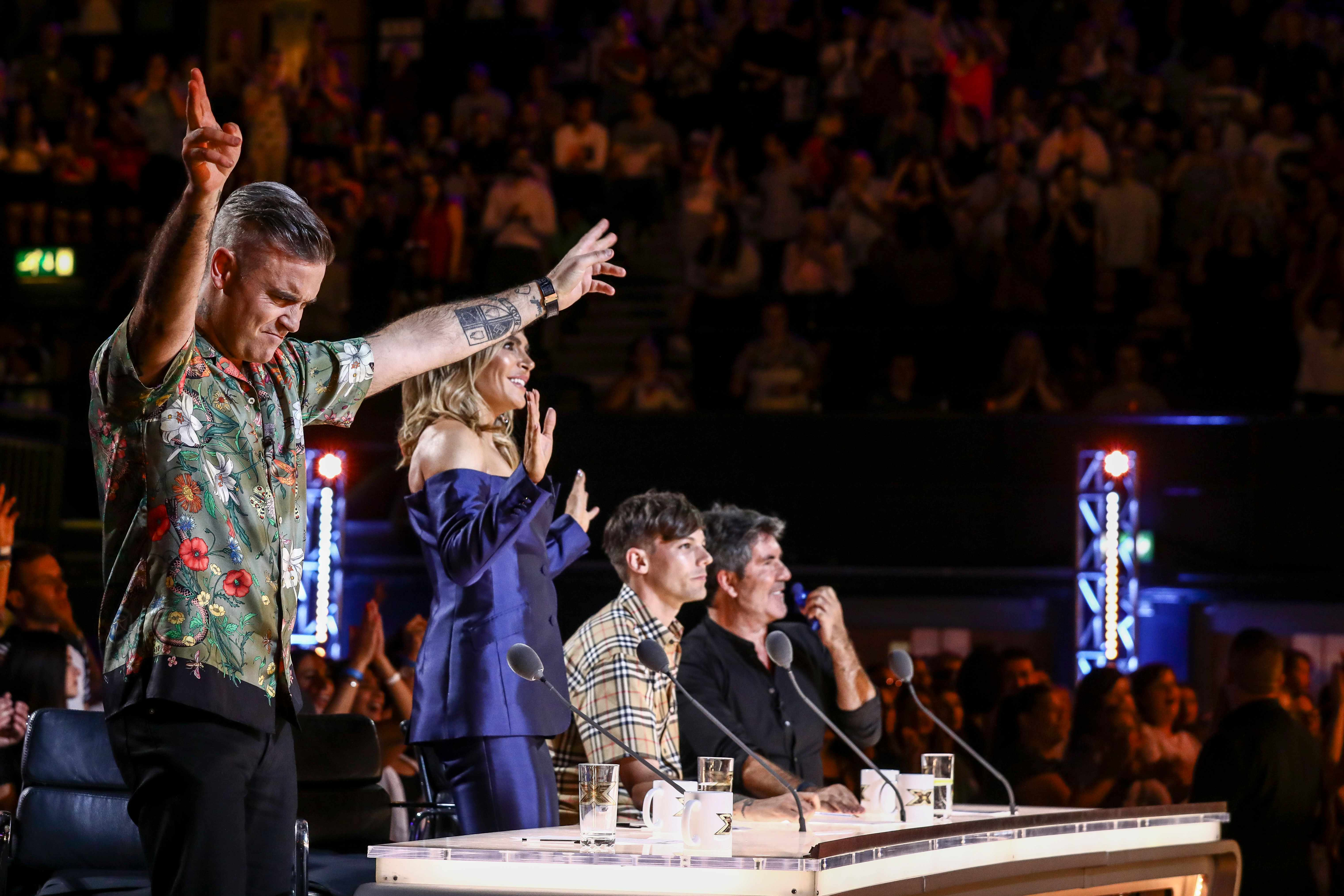 The X Factor 2018 judges ©Thames/Syco