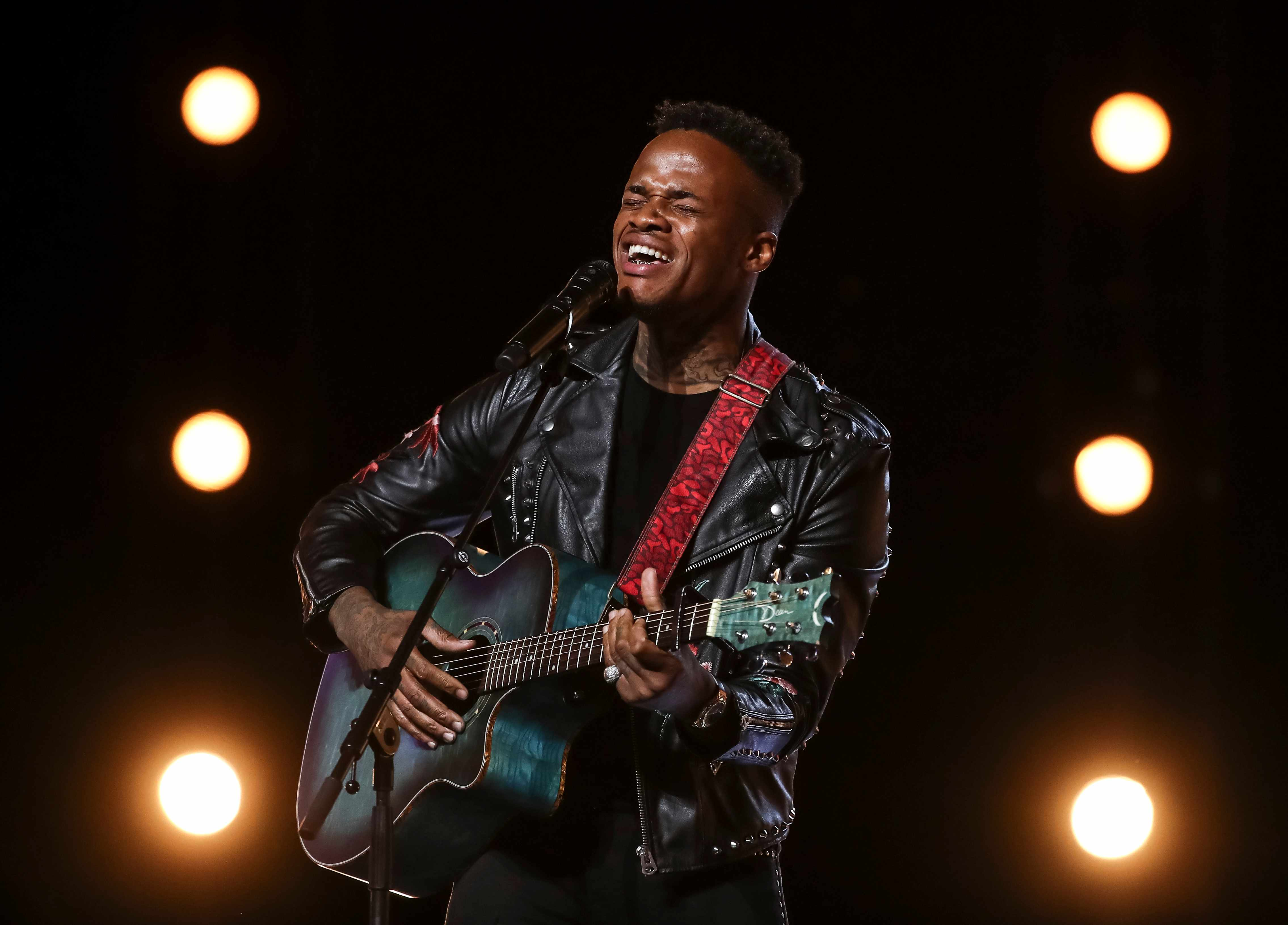 This image is strictly embargoed until 00.01 Saturday 15th September 2018  From Thames/Syco  The X Factor: SR15: Ep5 on ITV  Pictured: Armstrong.  This photograph is (C) Thames/Syco and can only be reproduced for editorial purposes directly in connection with the programme or event mentioned above, or ITV plc. Once made available by ITV plc Picture Desk, this photograph can be reproduced once only up until the transmission [TX] date and no reproduction fee will be charged. Any subsequent usage may incur a fee. This photograph must not be manipulated [excluding basic cropping] in a manner which alters the visual appearance of the person photographed deemed detrimental or inappropriate by ITV plc Picture Desk.  This photograph must not be syndicated to any other company, publication or website, or permanently archived, without the express written permission of ITV Plc Picture Desk. Full Terms and conditions are available on the website www.itvpictures.co.uk  For further information please contact: james.hilder@itv.com / 0207 157 3052  TL
