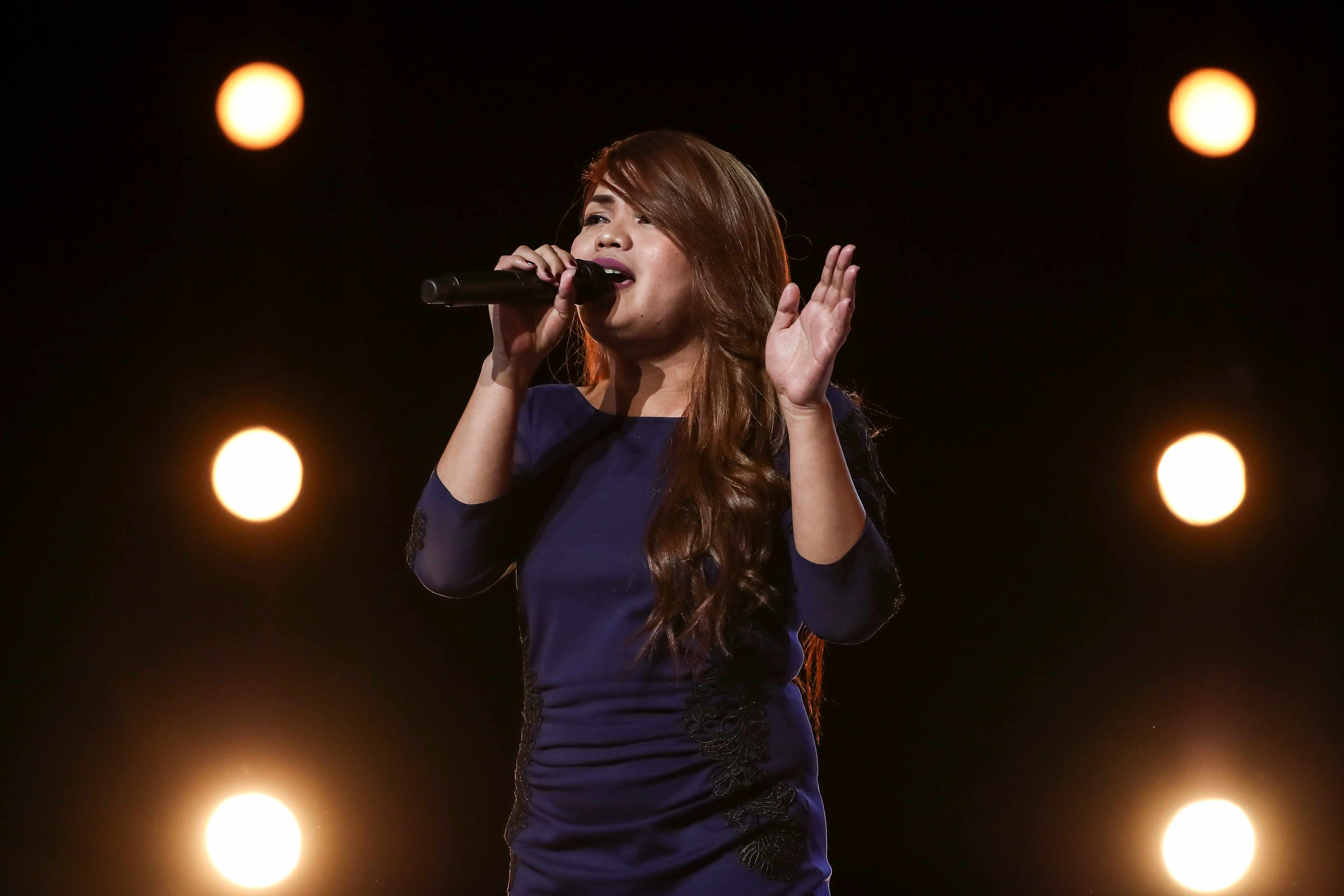 This image is strictly embargoed until 00.01 Saturday 15th September 2018  From Thames/Syco  The X Factor: SR15: Ep5 on ITV  Pictured: Sephy.  This photograph is (C) Thames/Syco and can only be reproduced for editorial purposes directly in connection with the programme or event mentioned above, or ITV plc. Once made available by ITV plc Picture Desk, this photograph can be reproduced once only up until the transmission [TX] date and no reproduction fee will be charged. Any subsequent usage may incur a fee. This photograph must not be manipulated [excluding basic cropping] in a manner which alters the visual appearance of the person photographed deemed detrimental or inappropriate by ITV plc Picture Desk.  This photograph must not be syndicated to any other company, publication or website, or permanently archived, without the express written permission of ITV Plc Picture Desk. Full Terms and conditions are available on the website www.itvpictures.co.uk  For further information please contact: james.hilder@itv.com / 0207 157 3052  TL