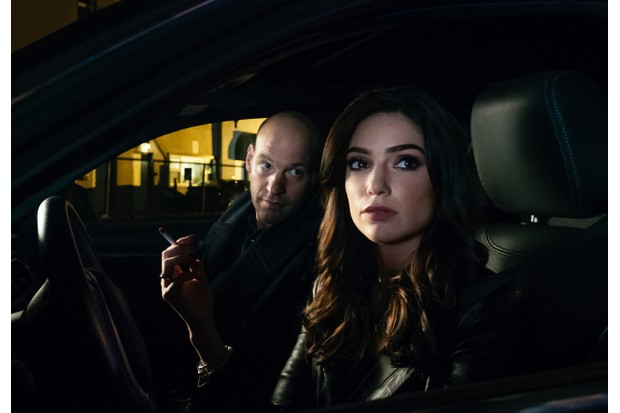 Corey Stoll and in The Romanoffs episode one (Amazon)