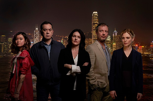 The cast of Strangers