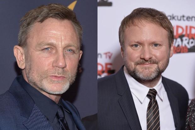 Daniel Craig and Rian Johnson (Getty, HF)
