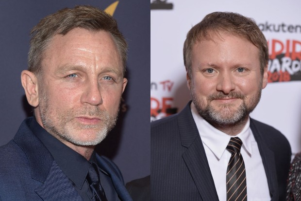 Daniel Craig and Rian Johnson (Getty, HF)