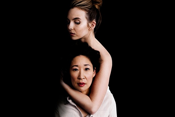 The stars of Killing Eve