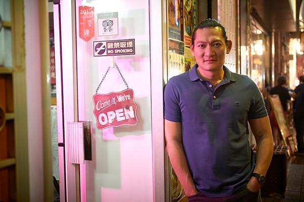Thomas Chaanhing plays Felix Chong in Strangers