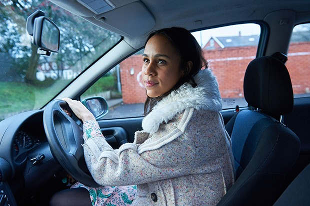 Zawe Ashton plays Claire in Wanderlust