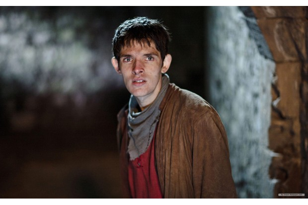 Colin Morgan in Merlin (BBC, HF)