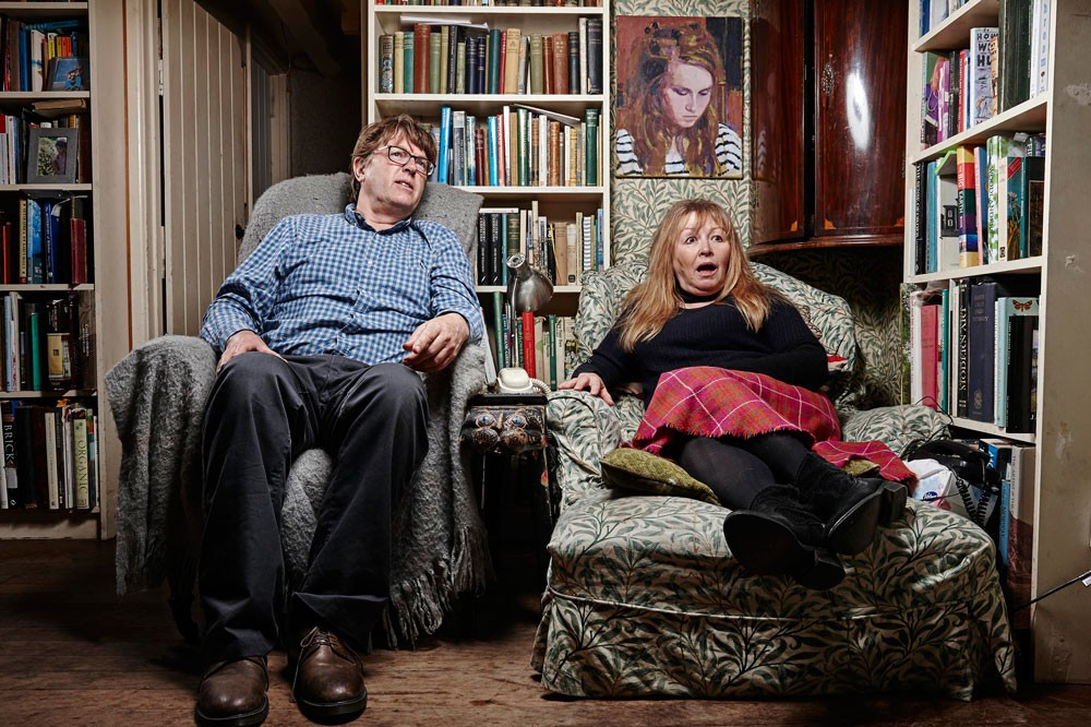 Giles and Mary, Gogglebox (C4)