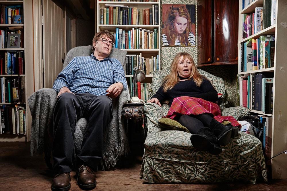 Giles and Mary, Gogglebox (C4)