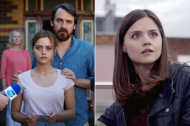 Jenna Coleman in Doctor Who and The Cry (BBC Pictures)