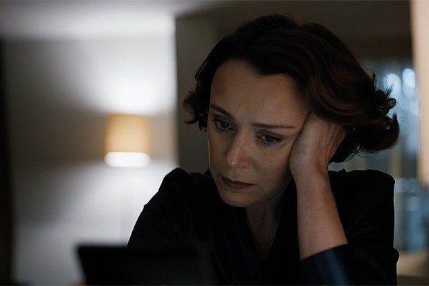 Julia Montague and the Kompromat in Bodyguard, BBC