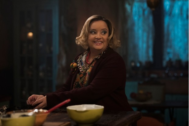Lucy Davis, Chilling Adventures of Sabrina (Netflix, EH)