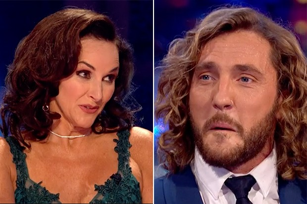 Shirley Ballas and Seann Walsh, BBC iPlayer