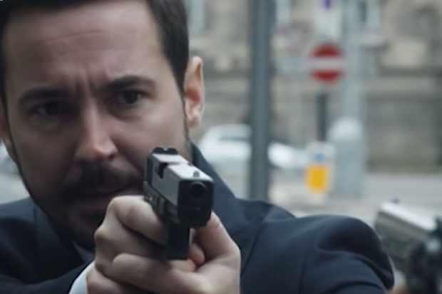 Martin Compston as DS Steve Arnott in Line of Duty trailer (BBC Screenshot)