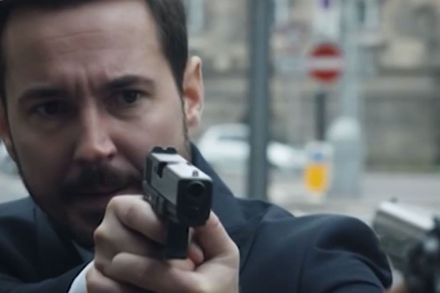 Martin Compston as DS Steve Arnott in Line of Duty trailer (BBC Screenshot)