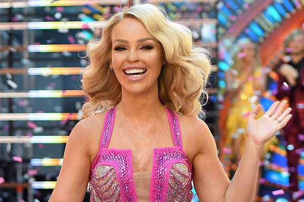 Katie Piper on Strictly Com Dancing, Getty