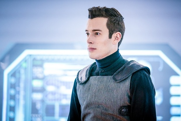 David Shields as Ronan in Doctor Who: The Tsuranga Conundrum (BBC)