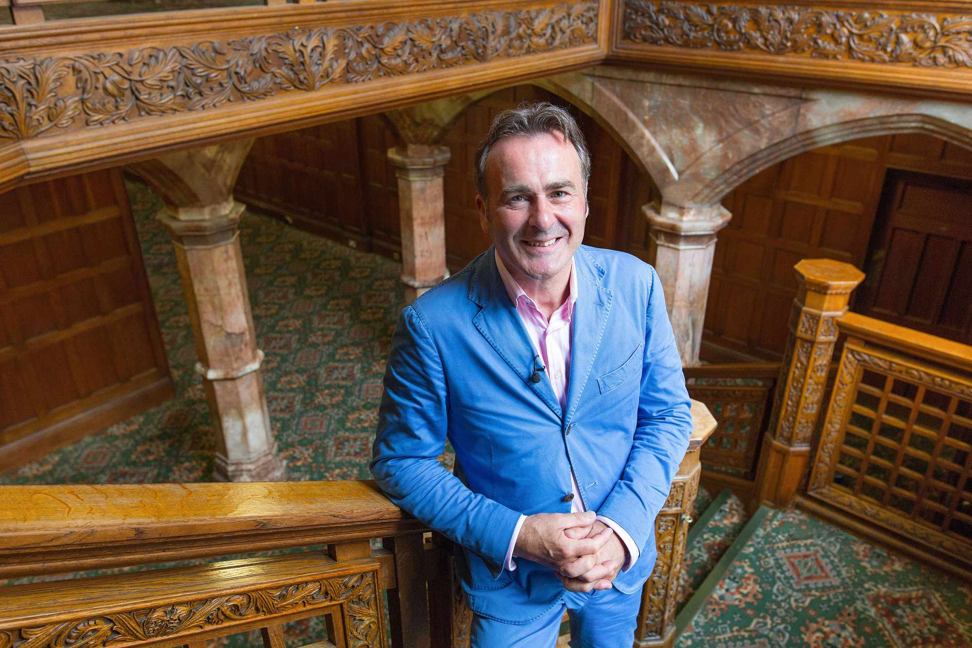 Programme Name: Flog It! - TX: n/a - Episode: n/a (No. n/a) - Picture Shows:  Paul Martin - (C) BBC - Photographer: Anna Gordon
