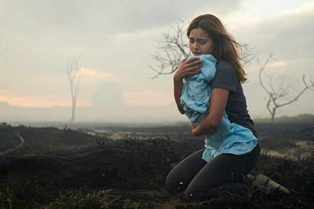 Joanna with Noah in The Cry