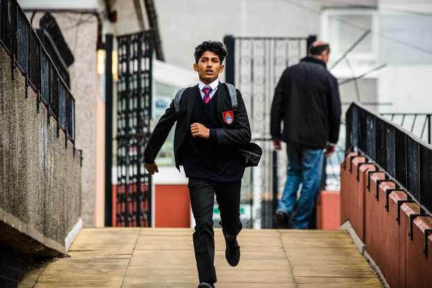 Raza's brother Nasir in Informer