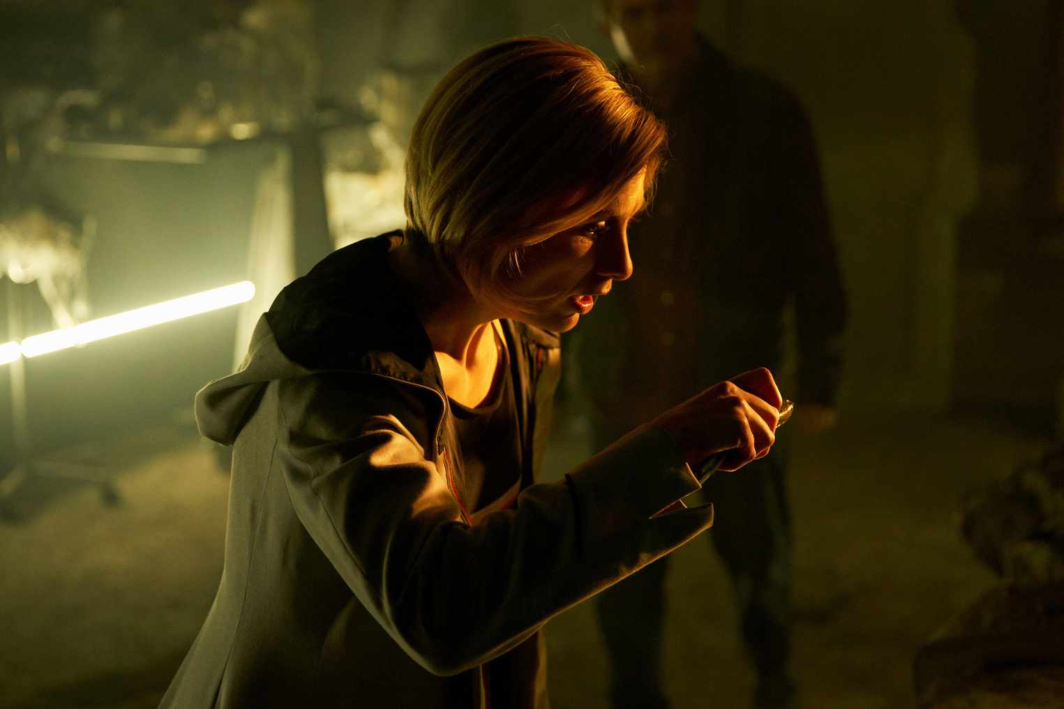 Jodie Whittaker in Doctor Who: The Ghost Monument (BBC, HF)