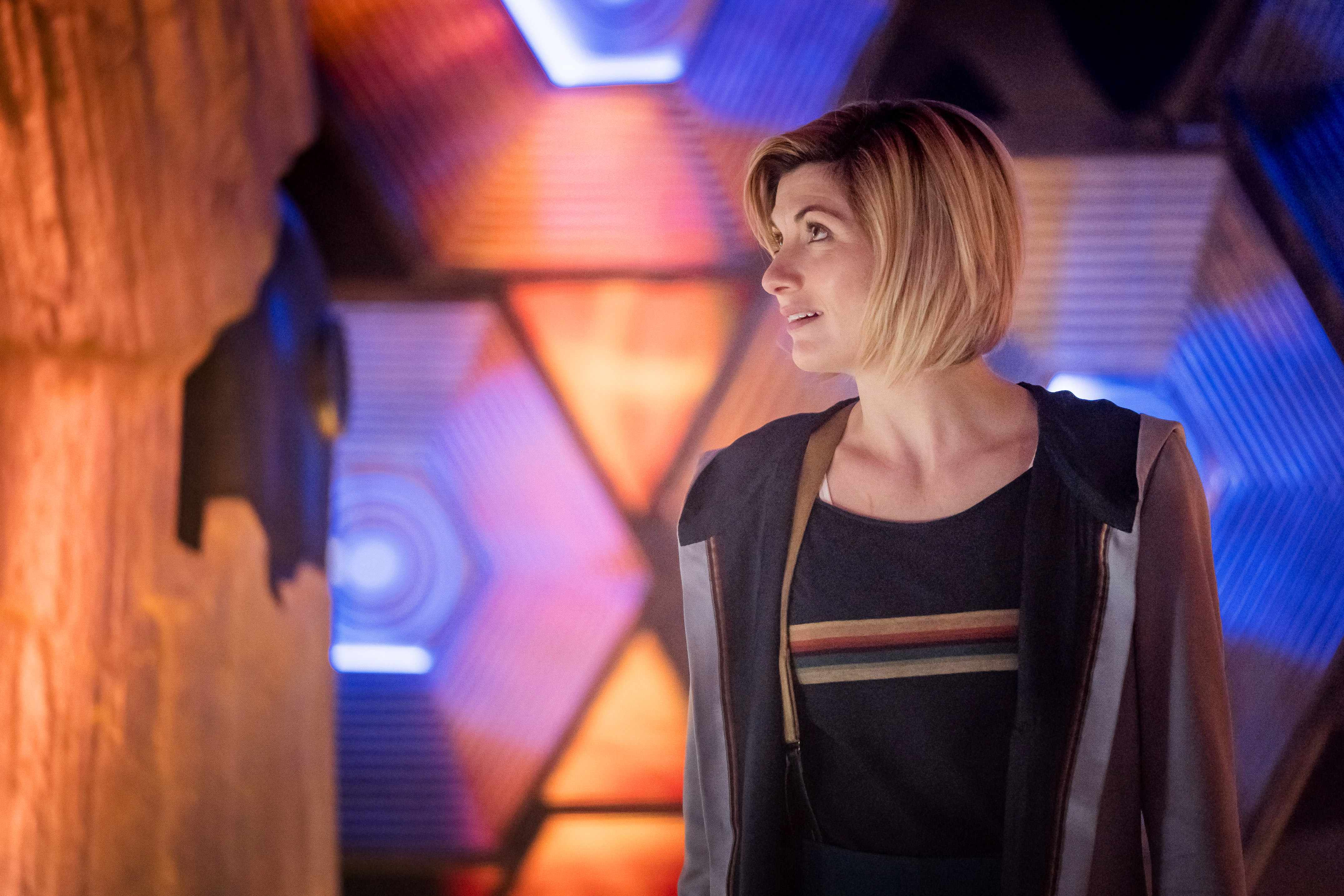 WARNING: Embargoed for publication until 19:50:01 on 14/10/2018 - Programme Name: Doctor Who Series 11 - TX: n/a - Episode: The Ghost Monument (No. 2) - Picture Shows: ++STRICTLY EMBARGOED UNTIL 19:50 HOURS SUNDAY OCTOBER 14TH, 2018+++ The Doctor (JODIE WHITTAKER) - (C) BBC / BBC Studios - Photographer: Coco Van Oppens TL