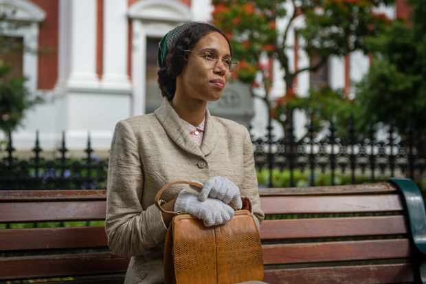 Vinette Robinson as Rosa Parks in Doctor Who (BBC Pictures)