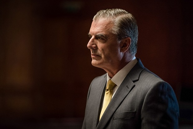 Chris Noth as Robertson in Doctor Who (BBC)