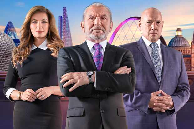 The Apprentice how to apply Alan Sugar, Claude Littner and Karen Brady