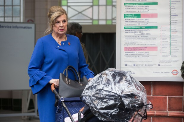 EastEnders: Cora Cross (Ann Mitchell) arrives back in Walford