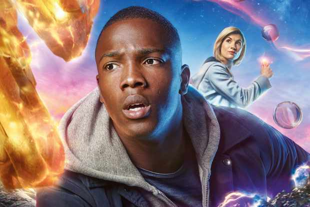Tosin Cole and Jodie Whittaker in Doctor Who (BBC, HF)