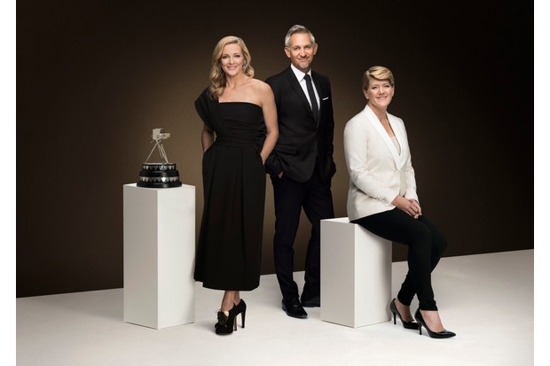 Gabby Logan, Gary Lineker, Clare Balding, Sports Personality of the Year (BBC)