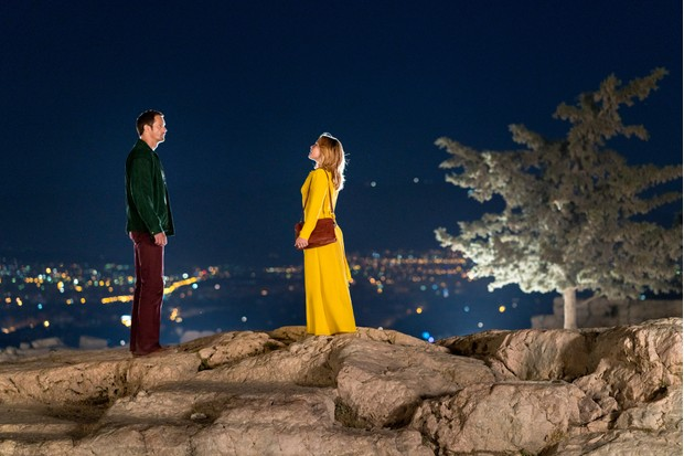 The Acropolis in The Little Drummer Girl