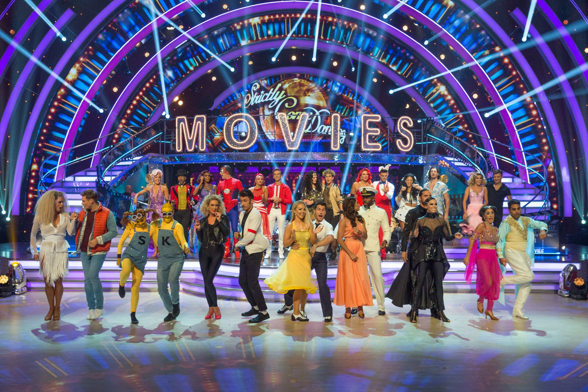Programme Name: Strictly Come Dancing 2018 - TX: 06/10/2018 - Episode: LIVE SHOW  (No. 3) - Picture Shows: ++LIVE SHOW++   - (C) BBC - Photographer: Guy Levy