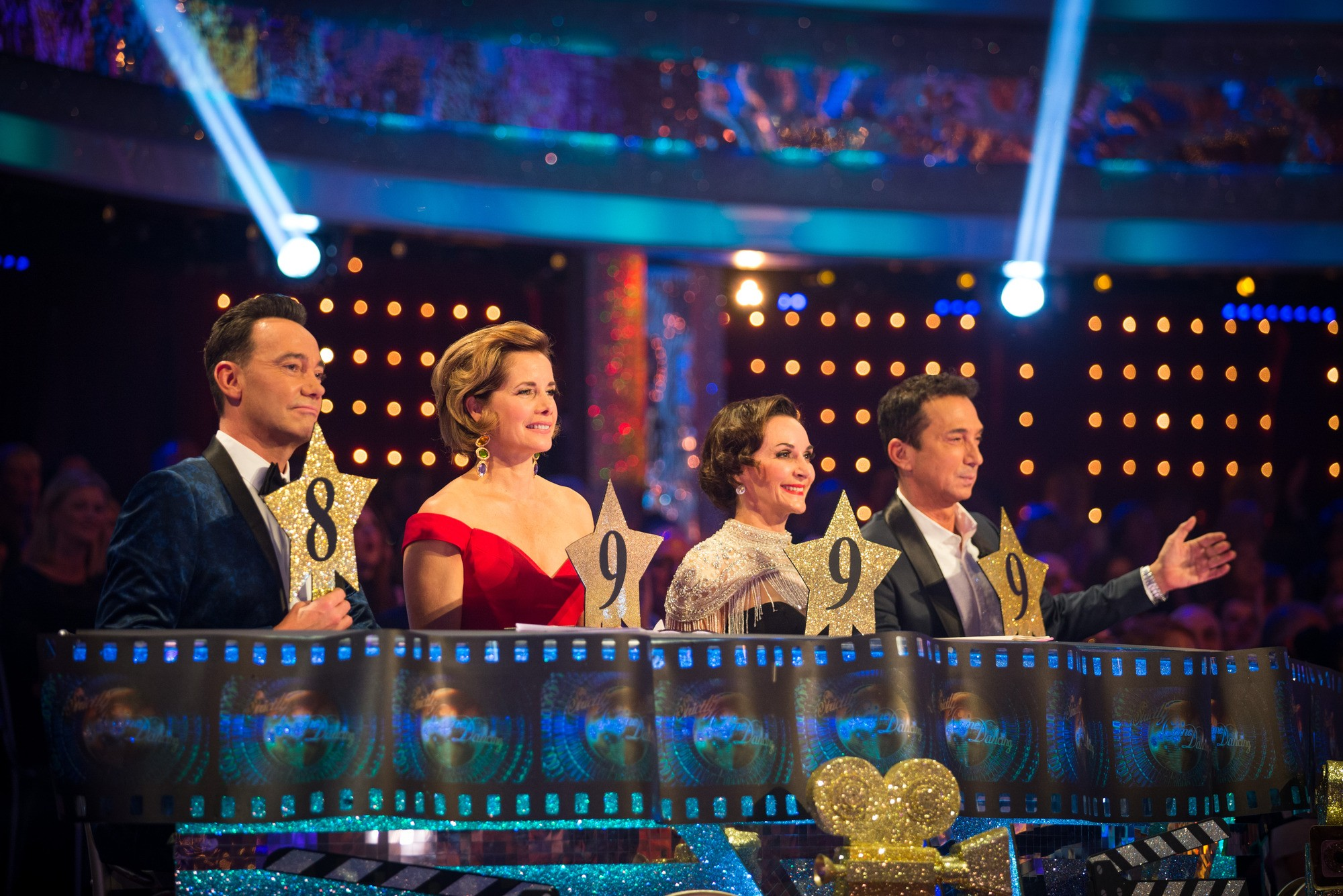 Programme Name: Strictly Come Dancing 2018 - TX: 06/10/2018 - Episode: LIVE SHOW  (No. 3) - Picture Shows: ++LIVE SHOW++  Strictly judges - (C) BBC - Photographer: Guy Levy