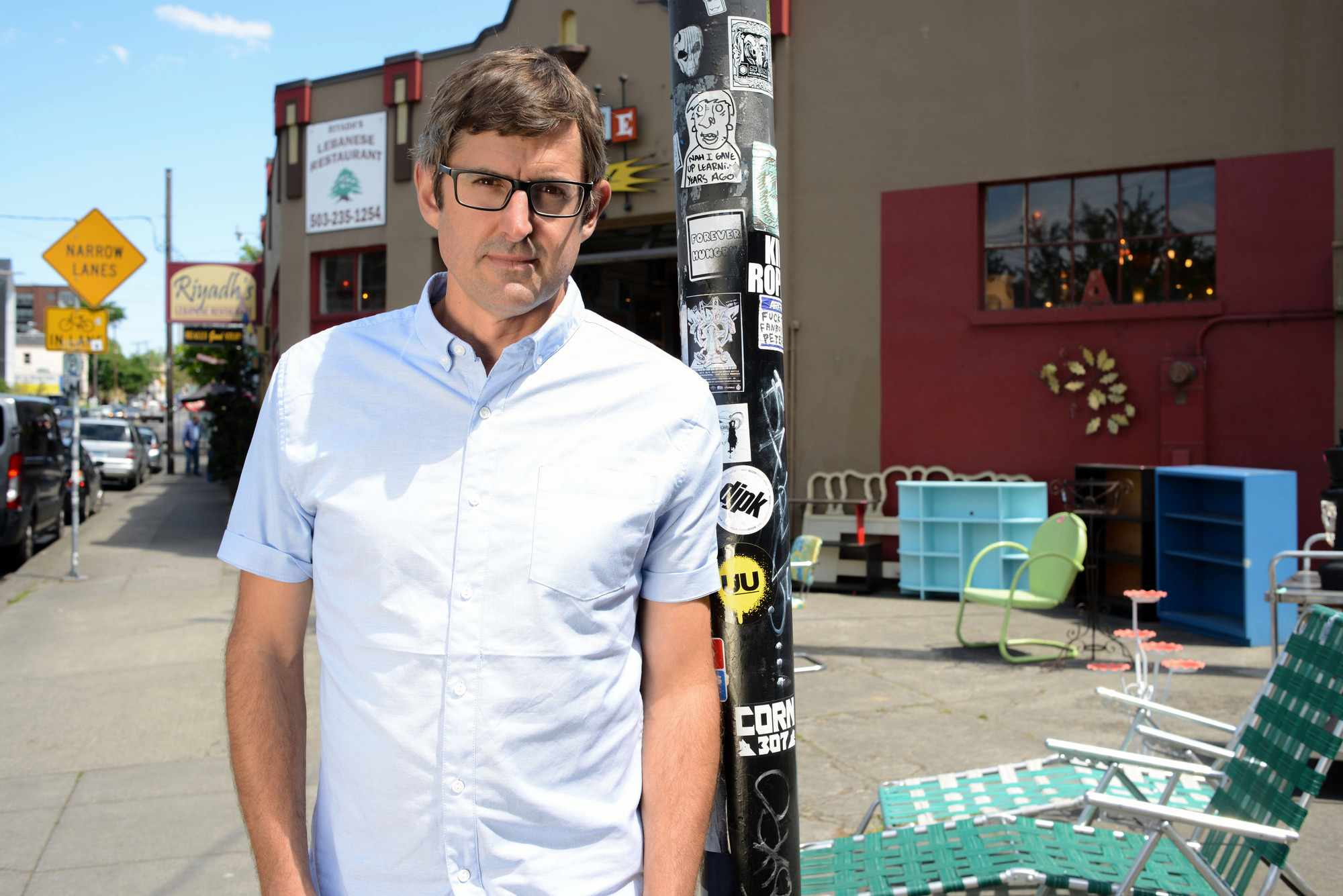 Louis Theroux in new BBC series Altered States (BBC/YouTube)