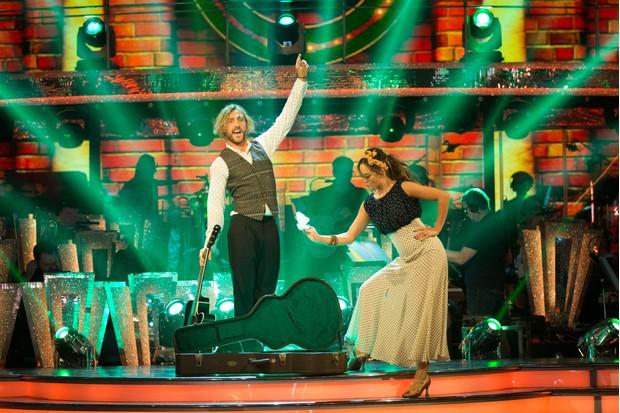 Sean and Katya Strictly (BBC)