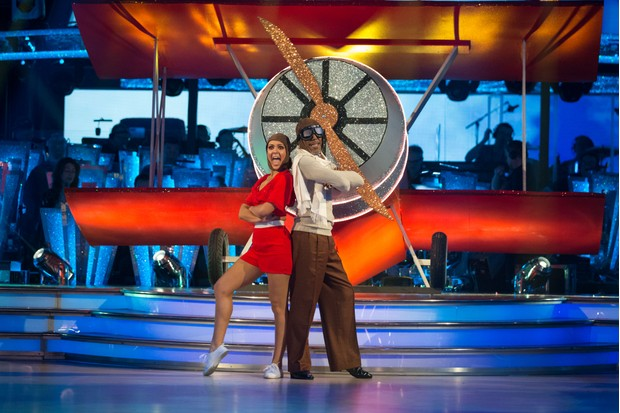 Programme Name: Strictly Come Dancing 2018 - TX: 20/10/2018 - Episode: n/a (No. n/a) - Picture Shows: ***EMBARGOED UNTIL POST TX OF EPISODE 5 20:35hrs 20th Oct 2018*** Amy Dowden, Danny John-Jules - (C) BBC - Photographer: Guy Levy
