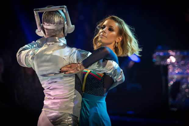Programme Name: Strictly Come Dancing 2018 - TX: 27/10/2018 - Episode: LIVE SHOW (No. n/a) - Picture Shows: ++Live Show++ Stacey Dooley, Kevin Clifton - (C) BBC - Photographer: Guy Levy