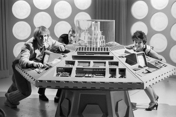 1980s Tardis, Doctor Who (BBC)