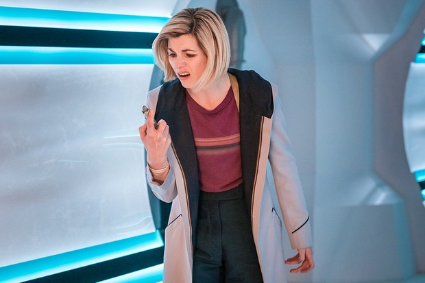 Jodie Whittaker in Doctor Who: The Tsuranga Conundrum (BBC)