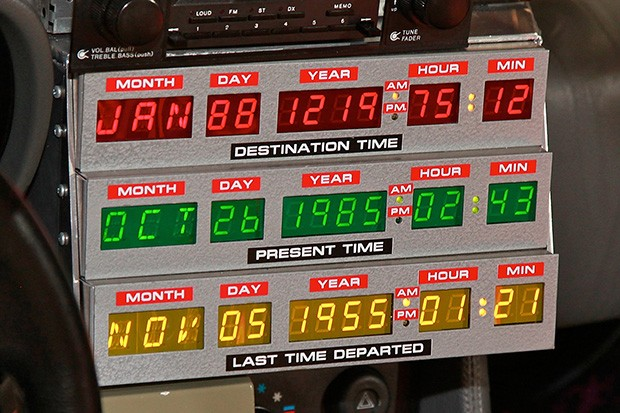Back To The Future Delorean time circuits